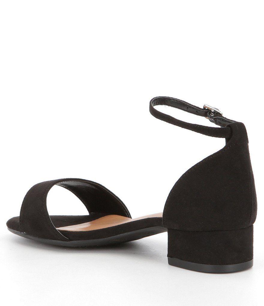 78e3fa5ce5a16 GB Girls Block-Girl Microfiber Ankle-Strap Block-Heel Dress Sandals Girl