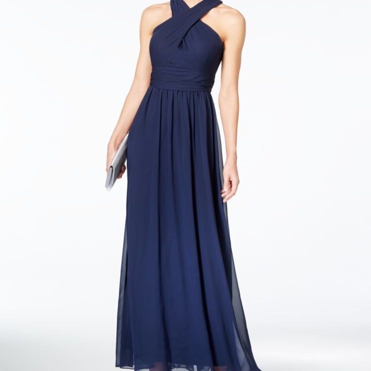 Adrianna papell dress blue plus size dresses gowns