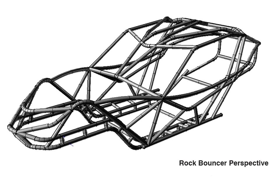 Rock Bouncer Chassis :: Wide Open Design | Ford Project | Pinterest ...
