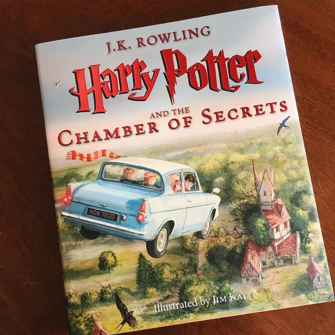 Harry Potter and the Chamber of Secrets: Illustrated Edition by J.K. Rowling and Jim Kay // New Orleans Fresh