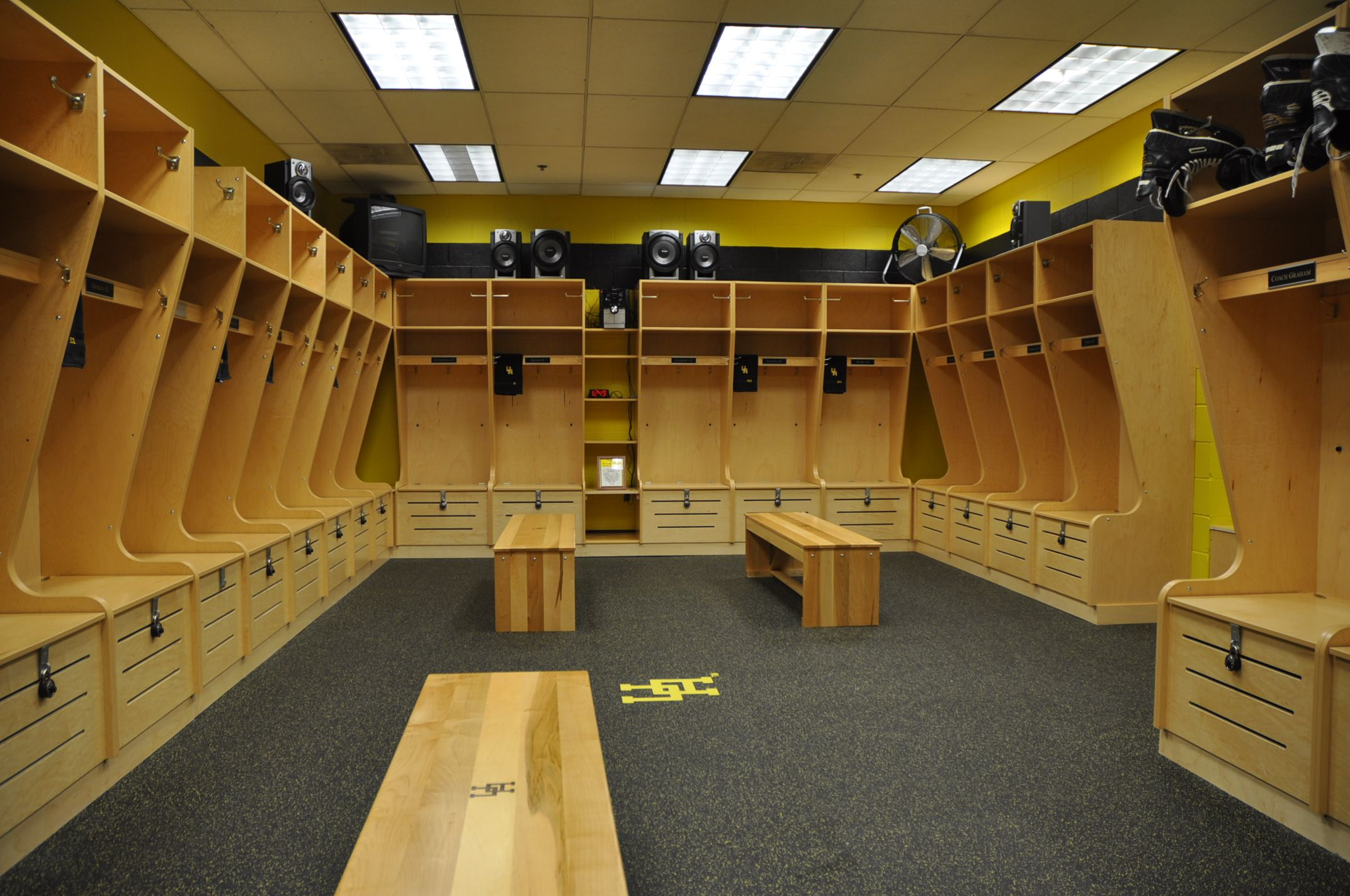 Hockey Locker Room Hockey Room Decor Locker Room Unique Houses