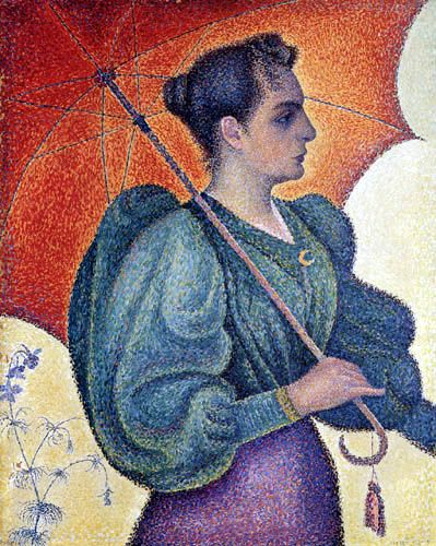 Paul Signac, portrait of Berthe Signac