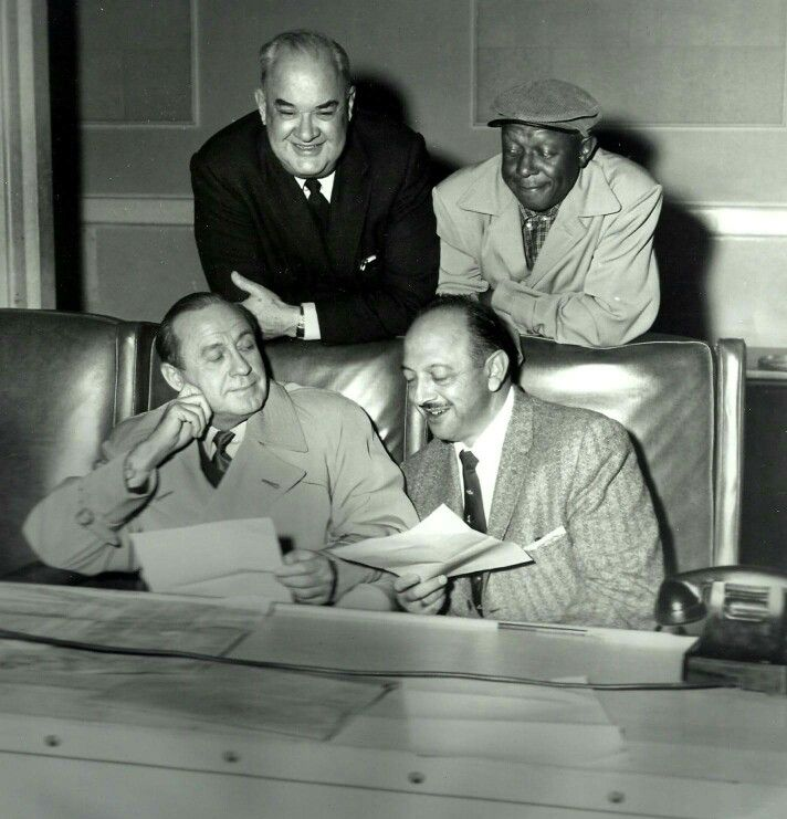Don Wilson, Rochester, Jack Benny and Mel Blanc  | Radio Classics in