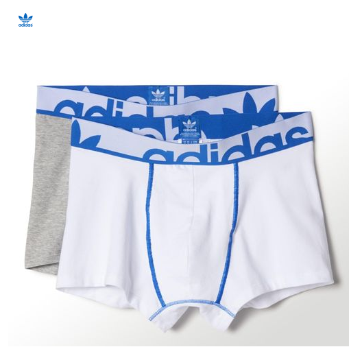 Adidas Originals Knitted Boxer Briefs 2 Pairs - Finally! Who needs Calvin Kline when you can have these? Just need to spend some more hours in the gym ...
