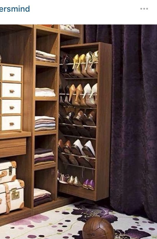 Places for these beauties walk in closets pinterest cl set muebles and vestidor - Almacenaje zapatos ...
