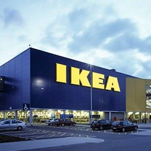 IKEA. The most amazing furniture store that has two floors, its own parking garage and cafeteria, and escalators. The best part is: Everything is made in Sweden and every piece of furniture has its own Swedish name.
