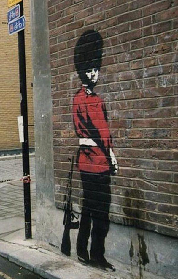 Banksy Girl with BAT Airbrush Painting Wall Art Stencil