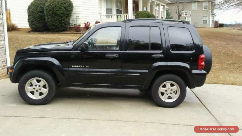 2002 Jeep Liberty Limited Sport Utility 4Door jeep