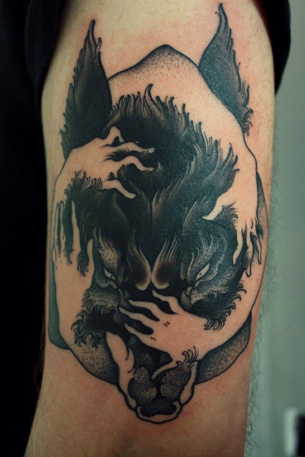 steppenwolf tattoos - Google Search | mark that bark ...