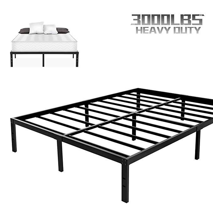 NOAH MEGATRON Heavy Duty Queen Platform Bed