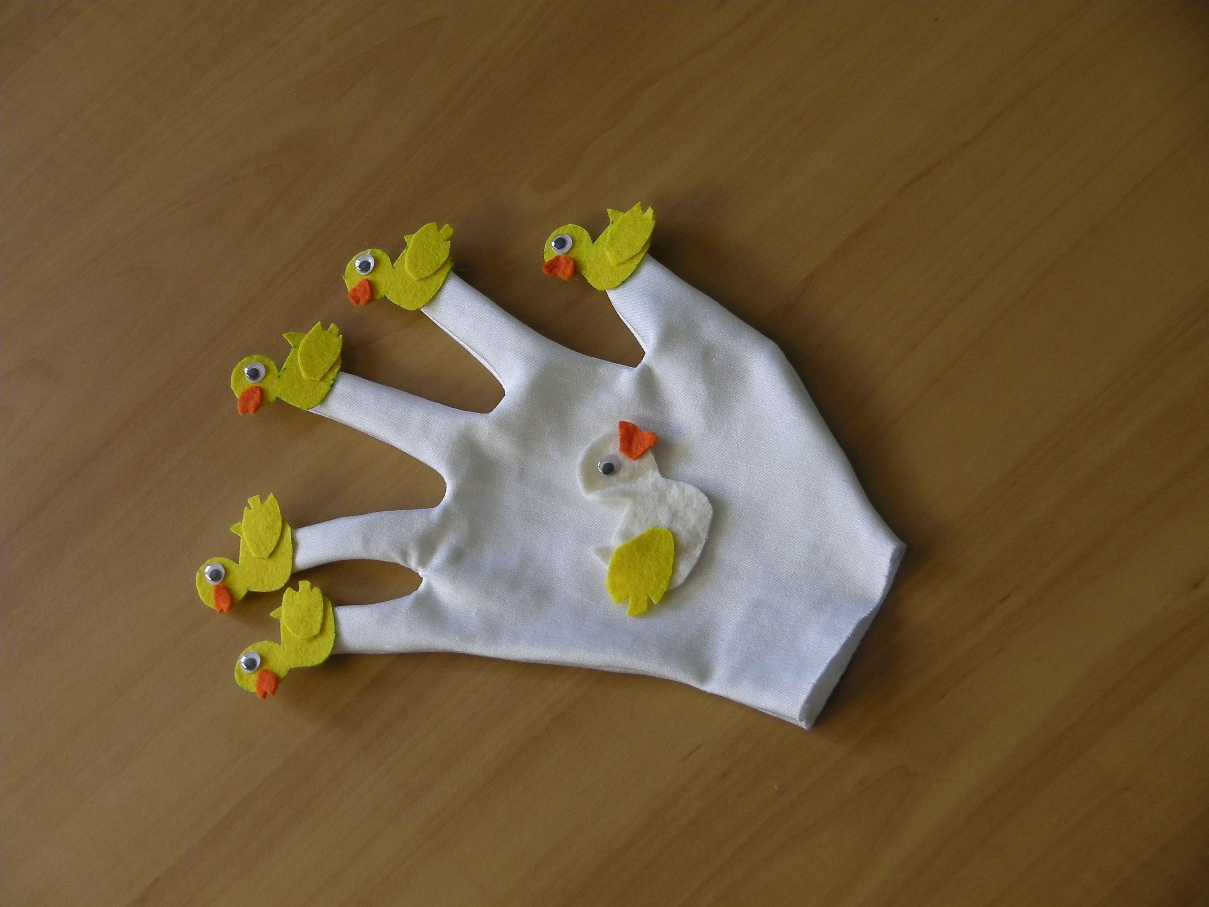 Five Little Ducks Glove Puppet