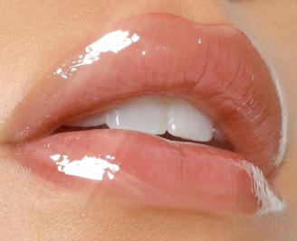Glossy Lip Gloss - Noelia   Glossy lips makeup, Natural lips, Glossier lip  gloss