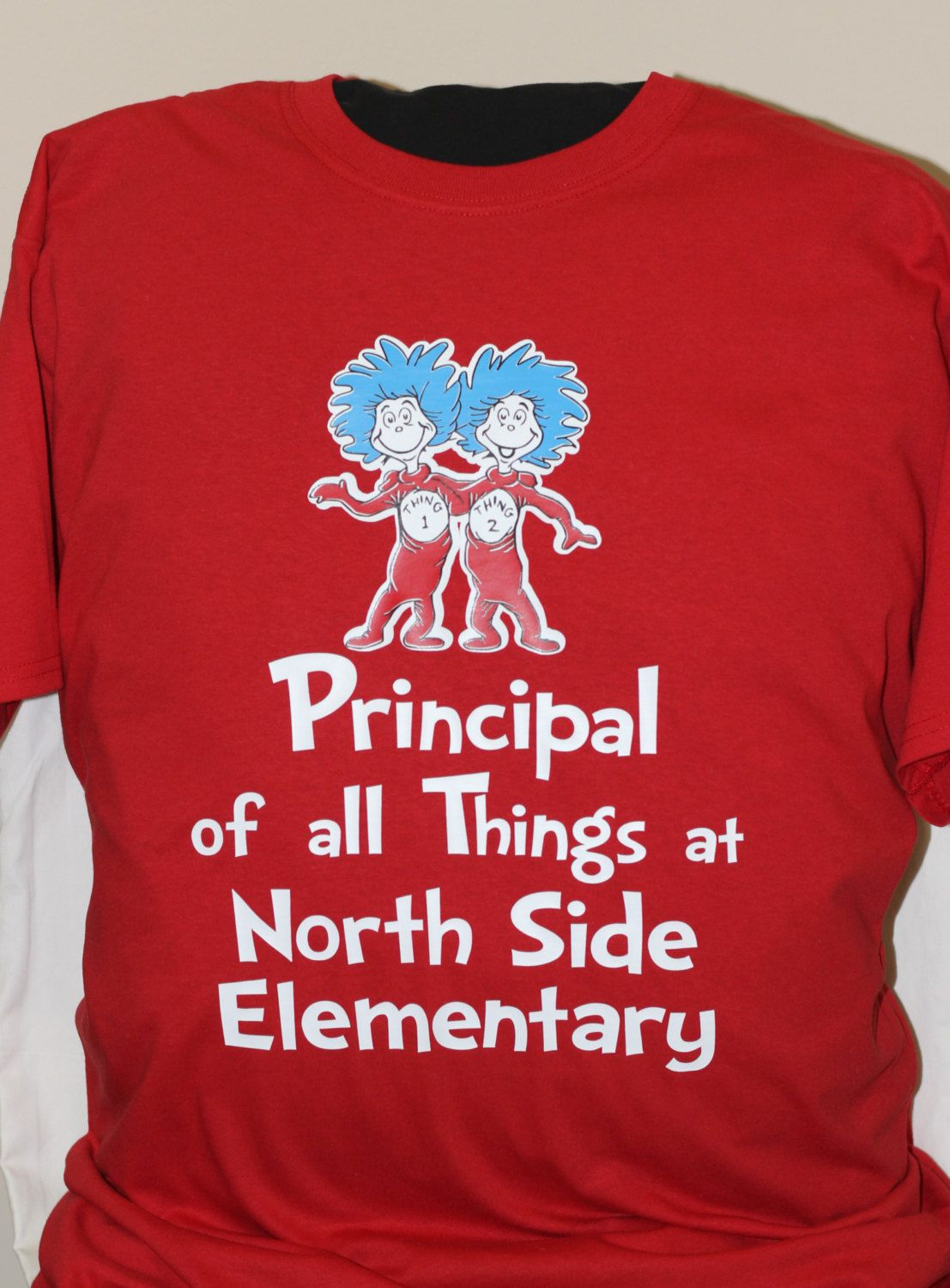 7165a949 Principal of all Things, Back to School Shirt customized with YOUR school  name, Dr Seuss inspired by tCanCreations on Etsy