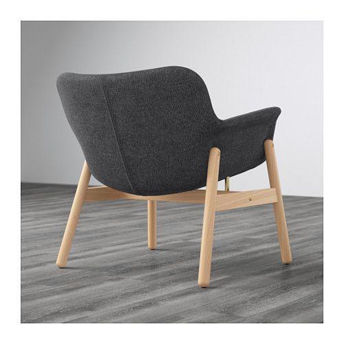 vedbo fauteuil gunnared gris fonc coup de coeur ikea pinterest fauteuil ikea ikea et. Black Bedroom Furniture Sets. Home Design Ideas