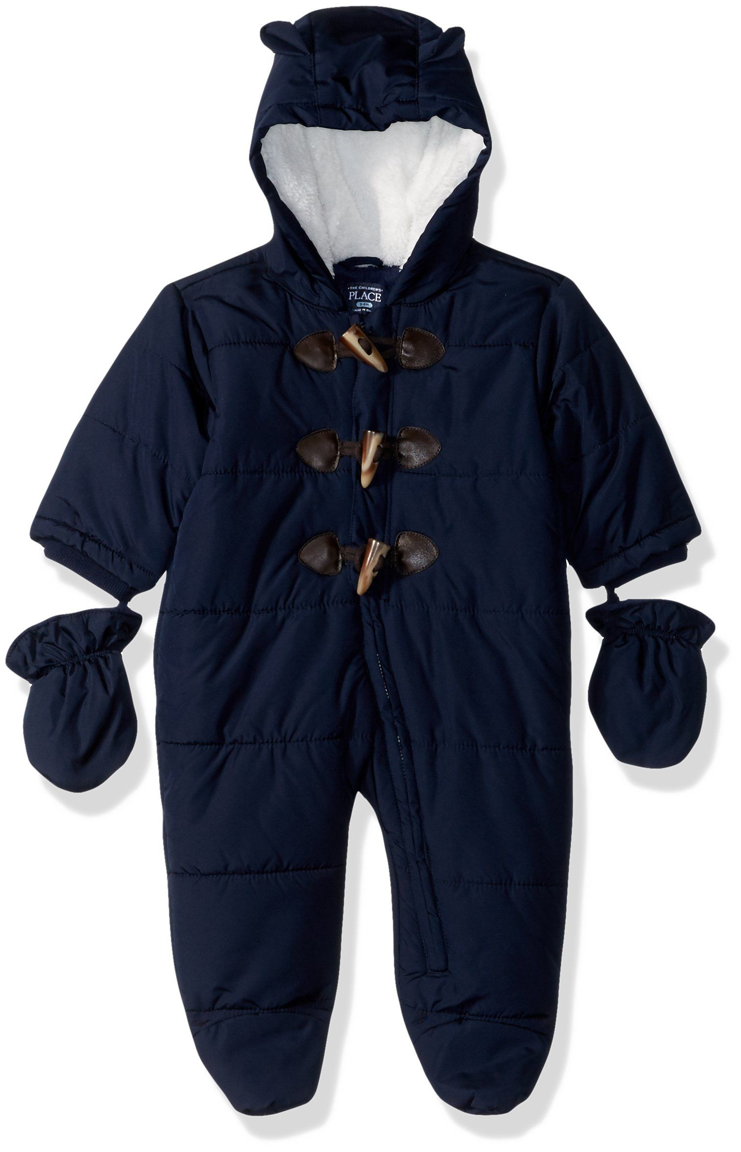 0a756a93e The Children s Place Baby Toggle Snowsuit