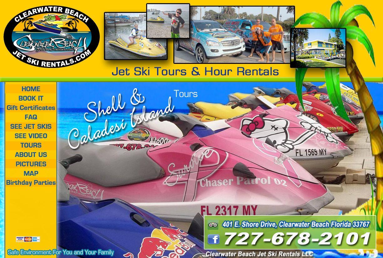Jet Skis Great Reviews On Tripadvisor Clearwater Beach Jet Ski Rentals Clear Water