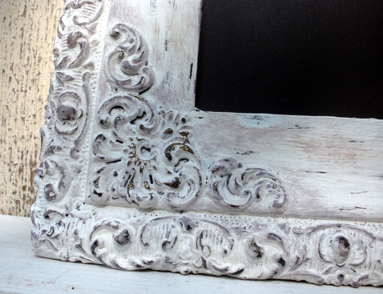 Chalkboard -Antique Beautiful Ornate Distressed Framed Magnetic ...