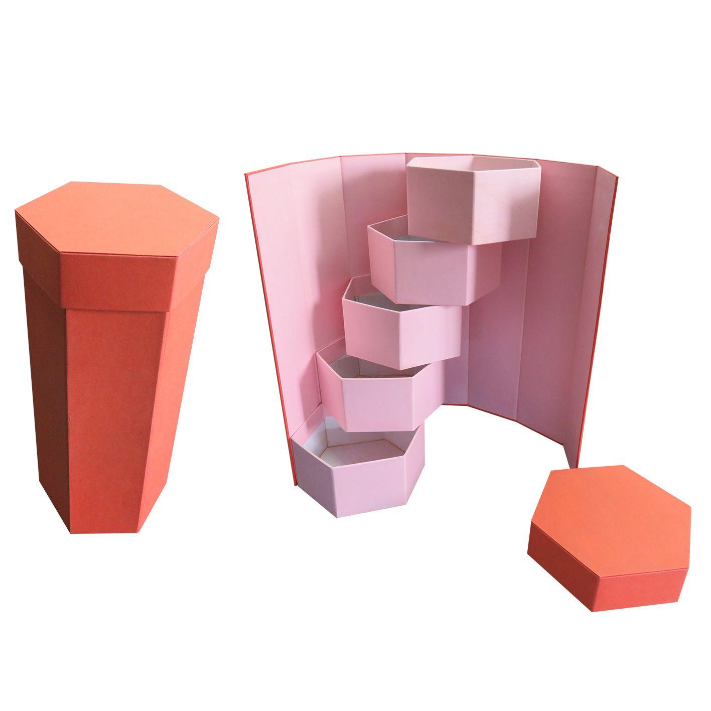 Rigid box -Hexagon