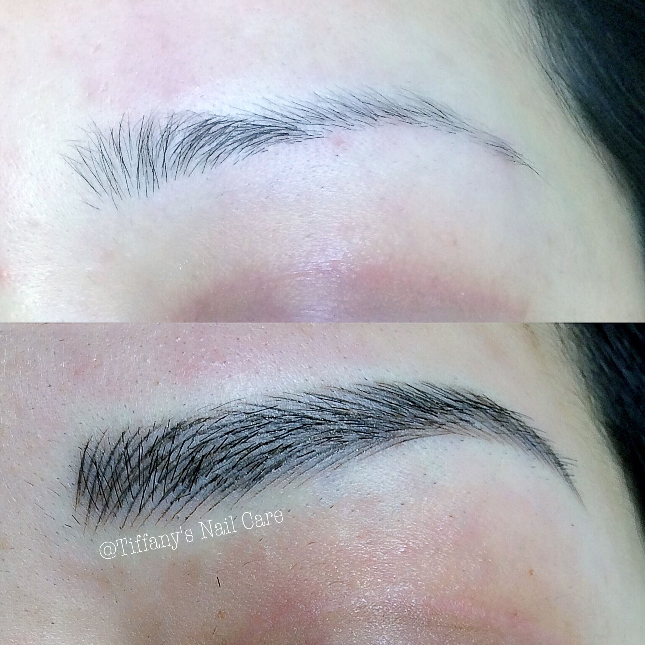 3D hair stroke eyebrow tattoo | browww | Pinterest | Hair stroke ...