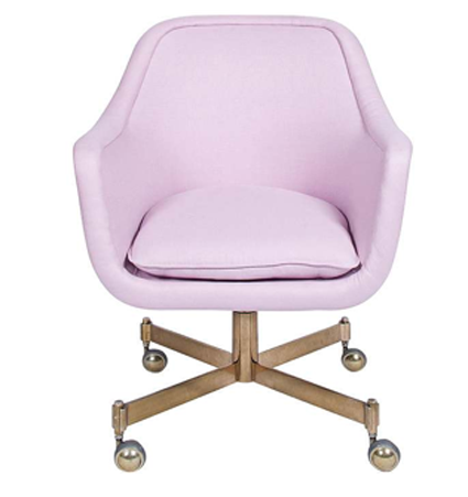 Lilac Desk Chair