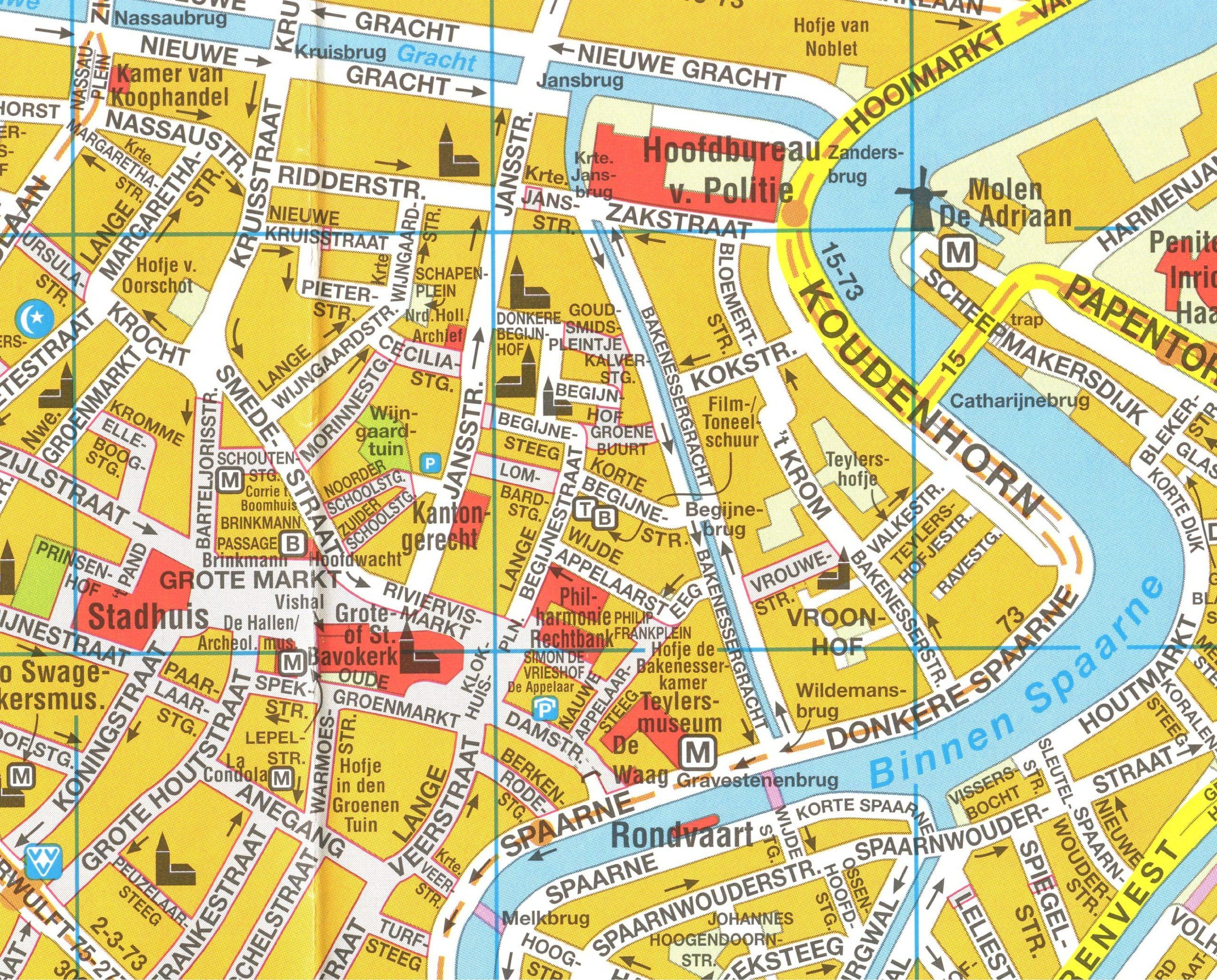 map of haarlem netherlands hometown Pinterest Haarlem