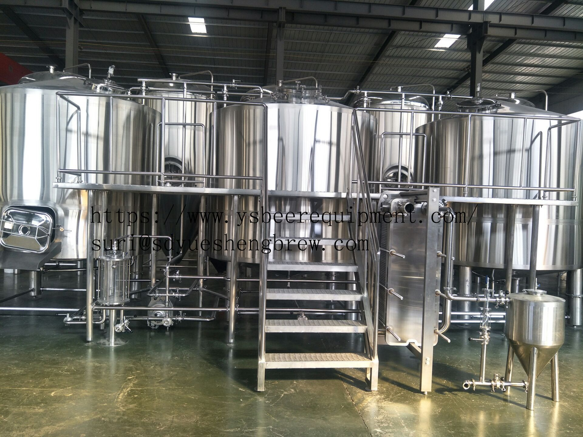 2000lbrewery Commercialbeerbrewingequipment 3 Or 4 Vessels Brewhouse Mash Lauter Kettle W Brewery Equipment Beer Brewing Equipment Brewing Equipment