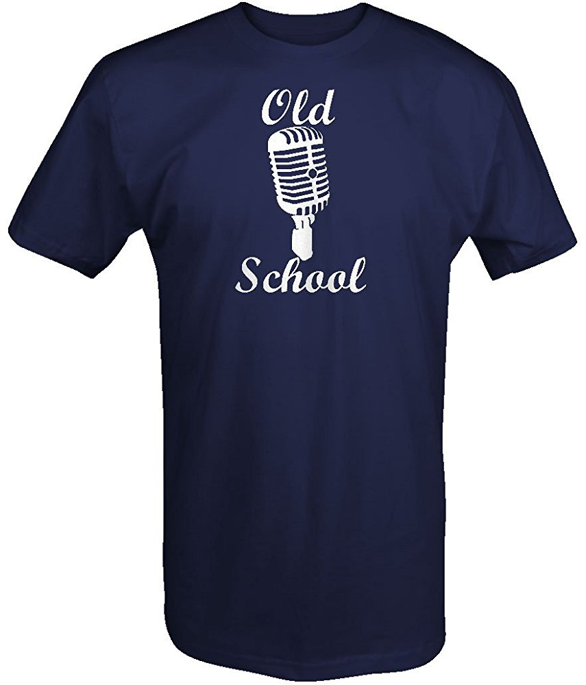 Falcon Apparel Old School Vintage Microphone Classic Music With Soul T Shirt 1 #oldtshirtsandsuch