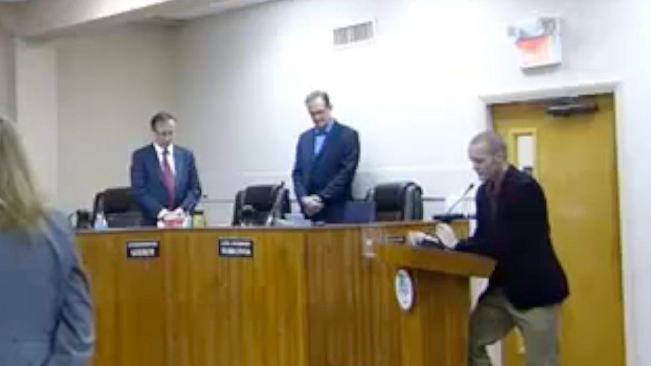 Mayor Walks Out On Invocation Prayer To Satan Zeus Allah Invocation Prayer Invocation Prayers