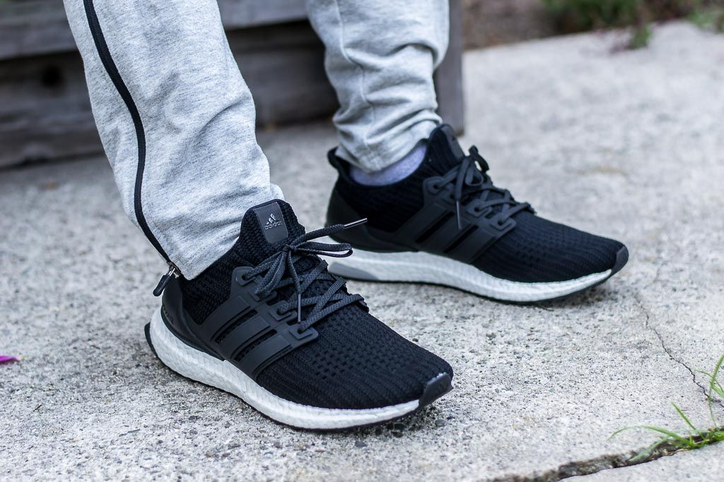 online store 85381 37417 Adidas Ultraboost 4.0 Core Black On Foot Sneaker Review ...