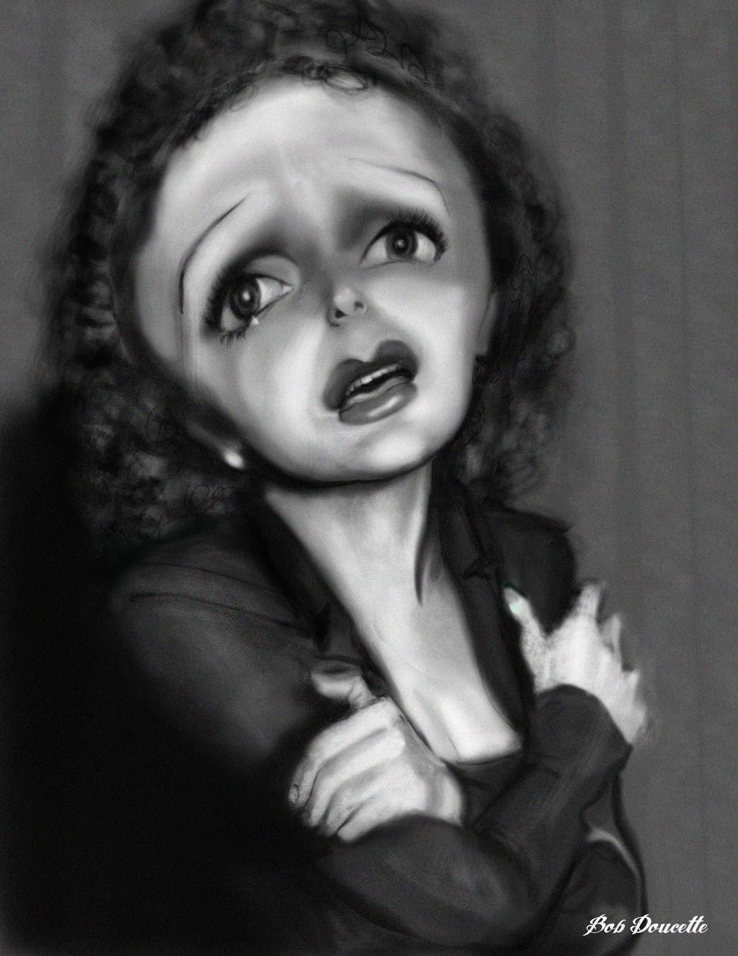 Edith Piaf   Caricature Corner