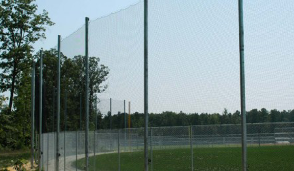 Elegant EZ Net Retractable Barrier Sports Netting System