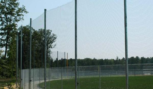 Delightful EZ Net Retractable Barrier Sports Netting System