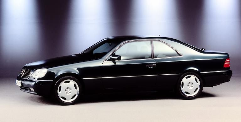 Mercedes Benz S Cl Coupe C140 Series