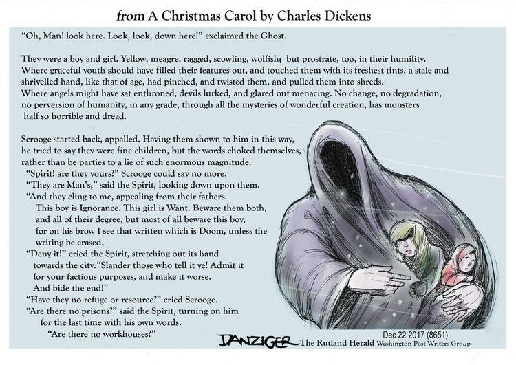 Jeff Danziger by Jeff Danziger for December 24, 2017   Editorial cartoon, Cartoon memes ...