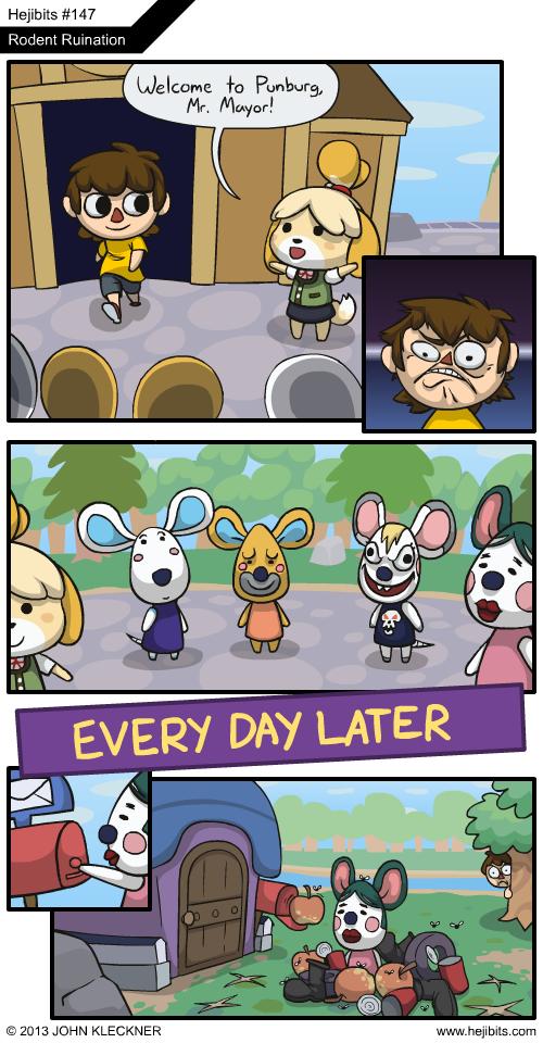 funny animal crossing villager memes