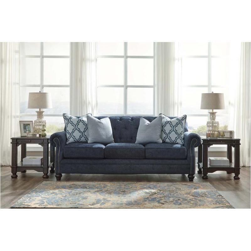 7130438 Ashley Furniture Lavernia Sofa Navy Sofa Ashley Furniture Cheap Living Room Furniture