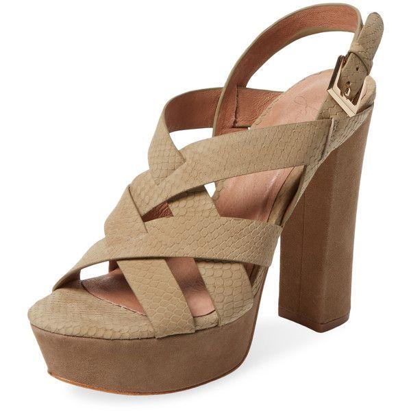 662ac1d5696c Joie Women s Inez Platform Sandal - Brown - Size 40 featuring polyvore