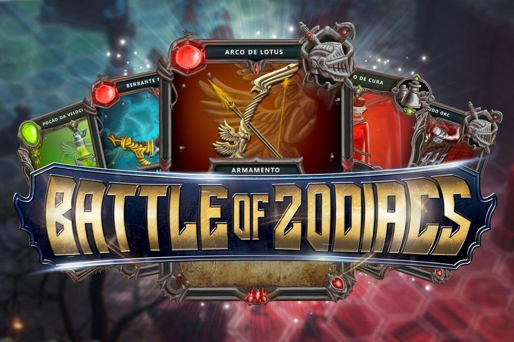 Battle of Zodiacs Card Game brasileiro é anunciado para
