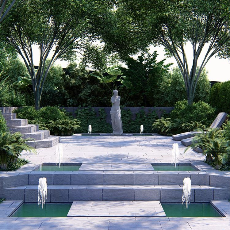 Schematic Design Of Classical Courtyard In North Eastern Suburbs Peopl Group Melbourne Garden Gardendesign Garden Design Garden Desig Schematic Design