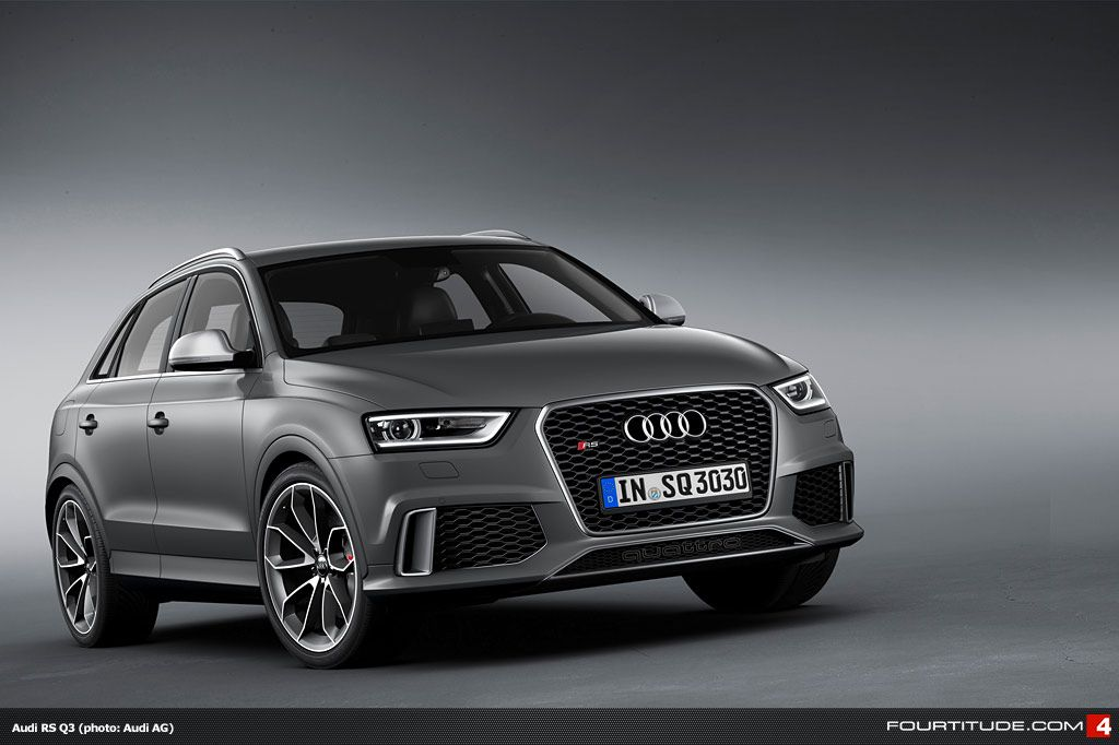 Wave Of New Audi Rs Q3 Photos Added To Fourtitude Gallery Audi Rs Audi Q3 Audi Rsq3