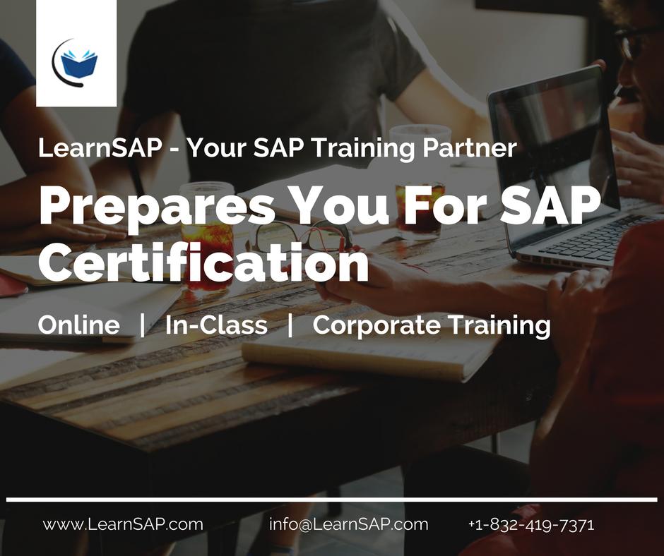 Sap Saptraining Sapeducation Sapcertification Certification