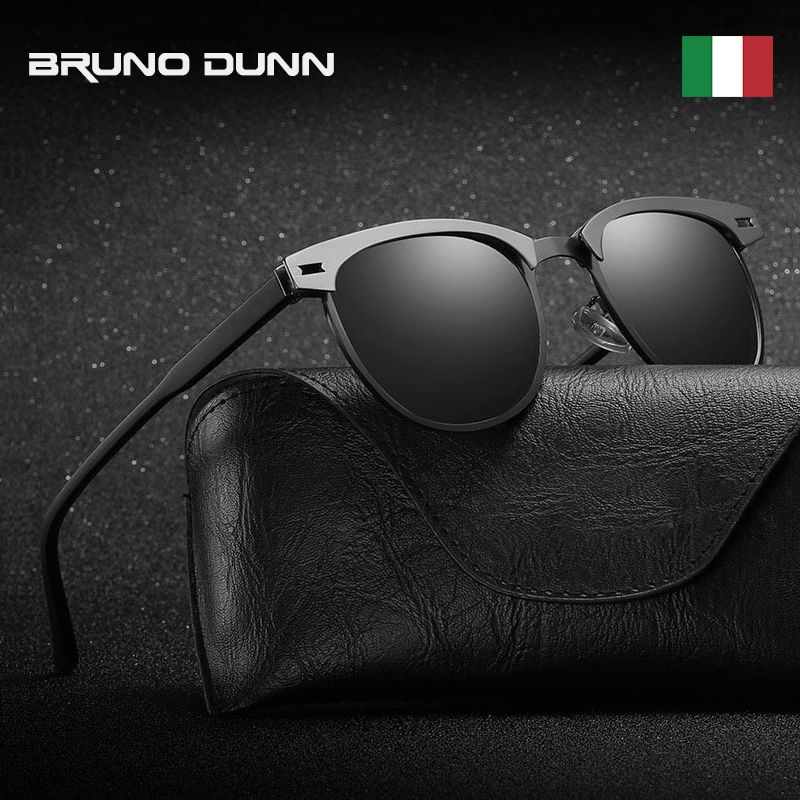 8c2e9e0a096 Buy Aluminium Classic Polarized Sunglasses Men Women Brand Design UV400 Sun  Glasses Male Female Vintage clubmaste