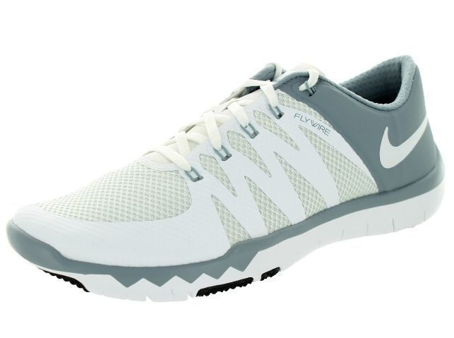 Men's Nike Free Trainer Training Shoe White/Dove Grey/Pure Platinum/White  Size 9 M US: For a natural and weightless feel during even the most intense  ...