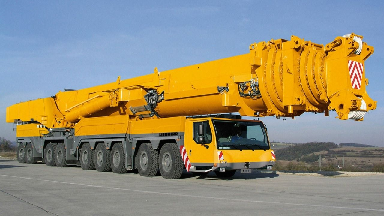 Extreme machine truck mobile cranes top biggest machines and vehicles i
