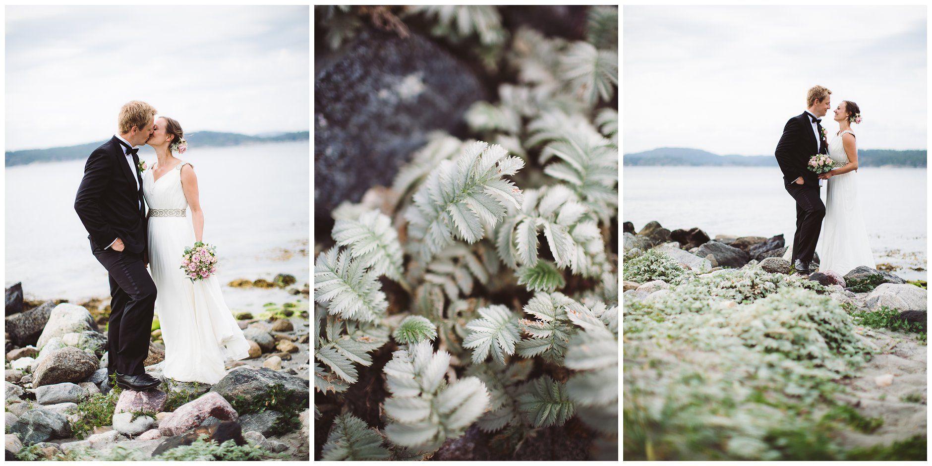Costal wedding at Jomfruland, Kragerø // Bryllup ved havet på Jomfruland utenfor Kragerø