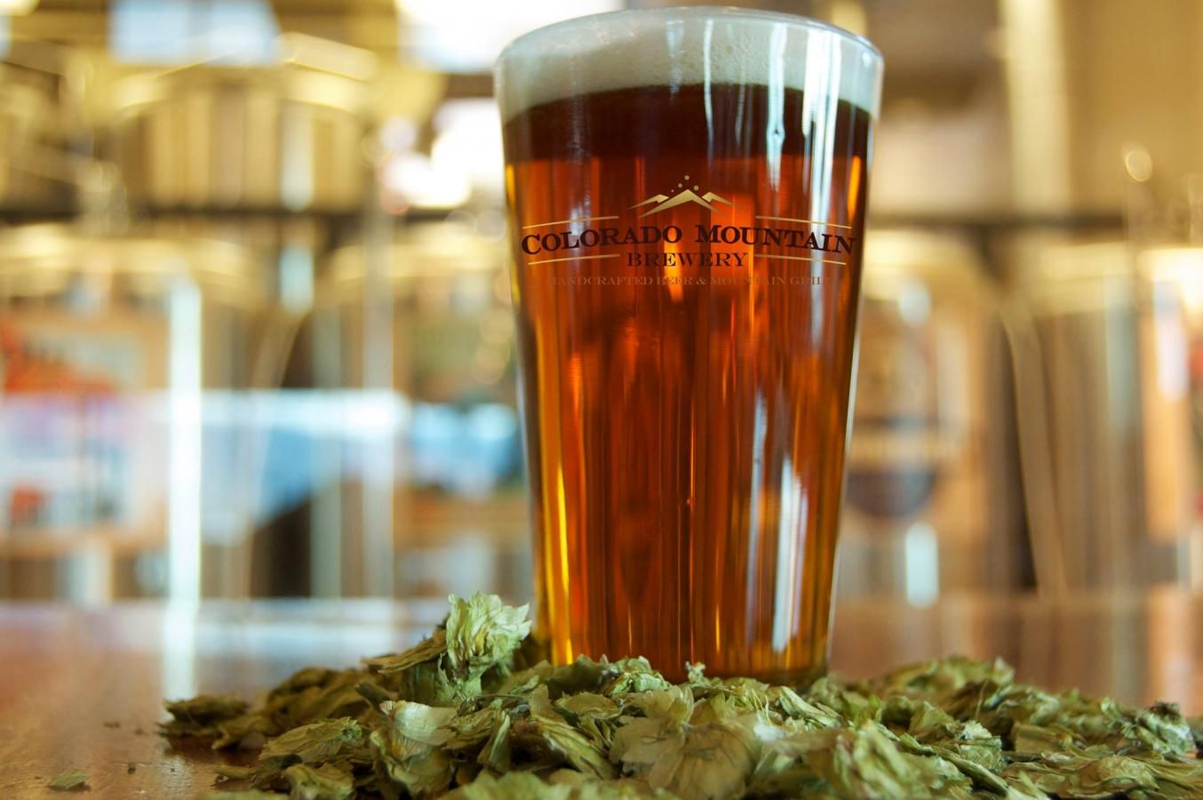 Colorado Mountain Brewery's north location is close to the