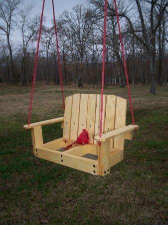Adorable Porch Swing Bird Feeder! (With images) Porch