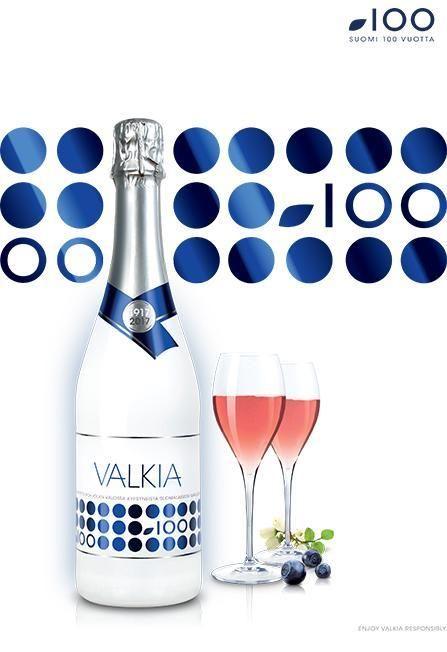 Kotimainen Valkia-kuohuviini on satavuotiaan Suomen itseoikeutettu maljajuoma | Juomavinkki