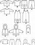 Resultado de imagem para Free Printable Doll Clothes Patterns