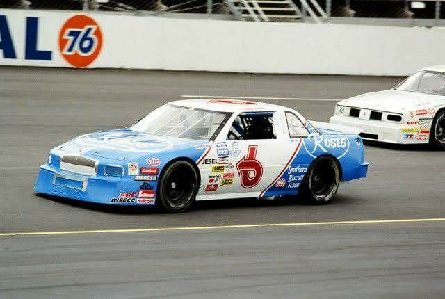 Tommy Houston in the Busch Series